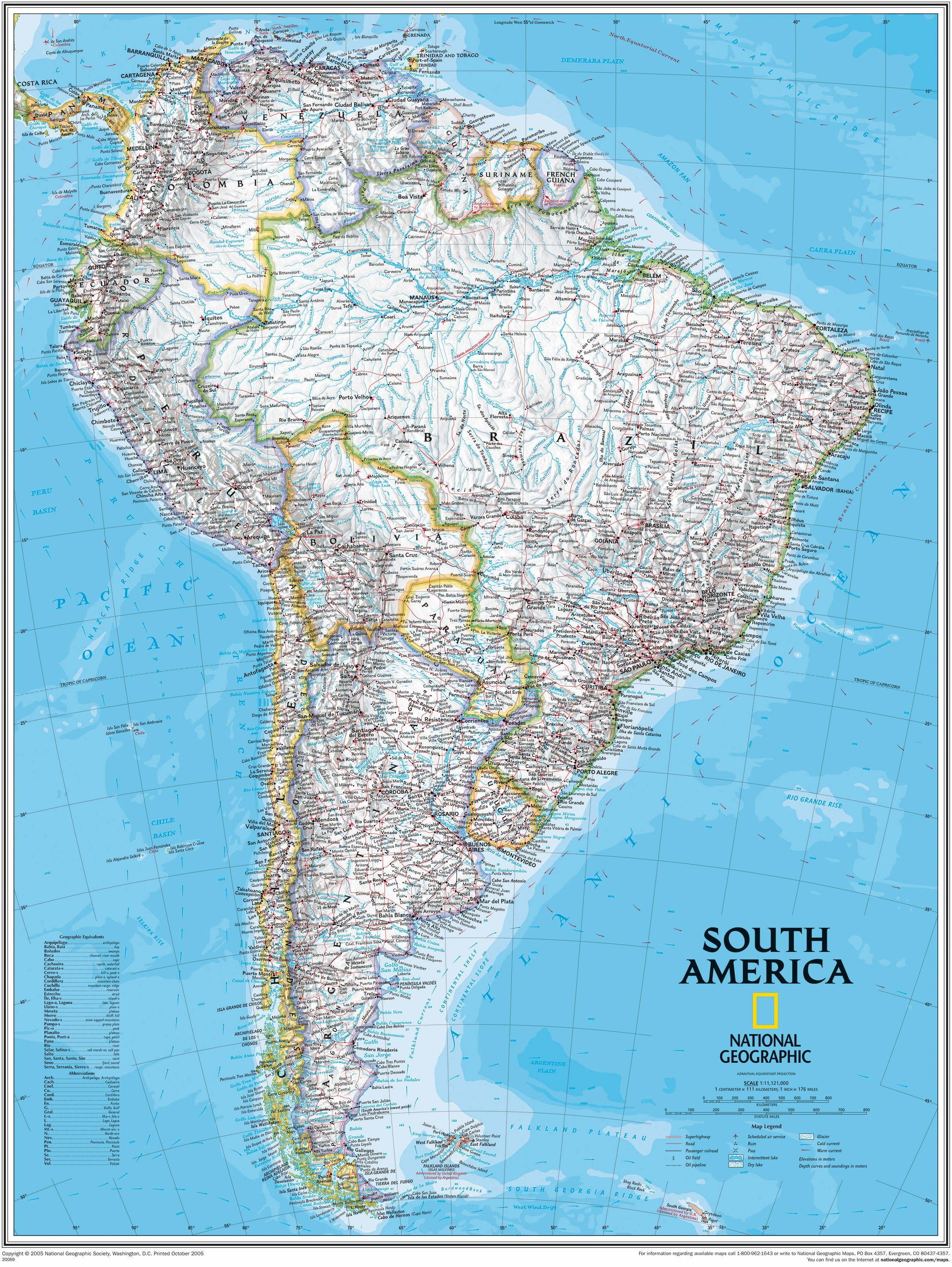 giant traveling maps north america national geographic society