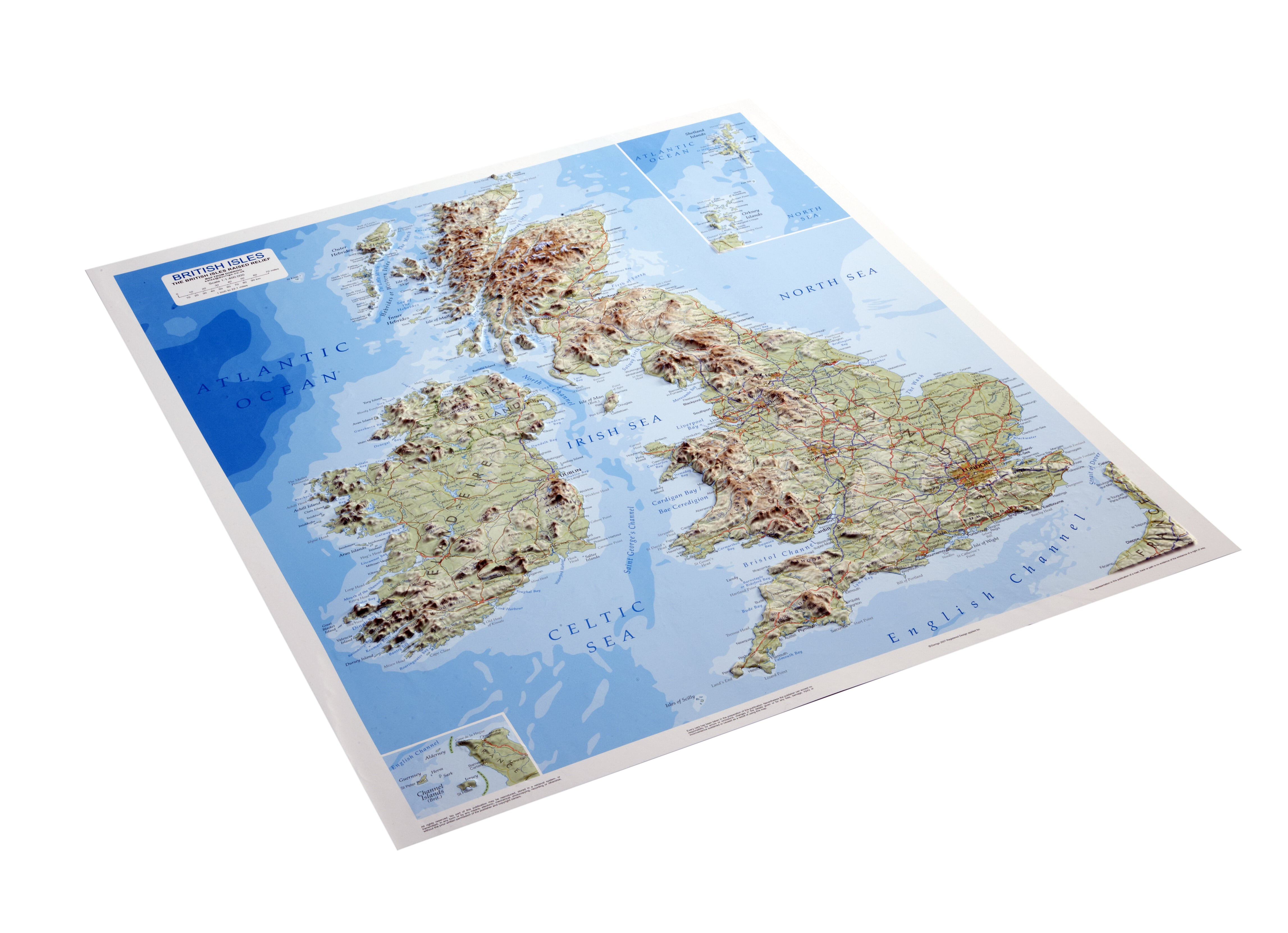 Map Of Ireland 3d.3d Relief Map Of British Isles