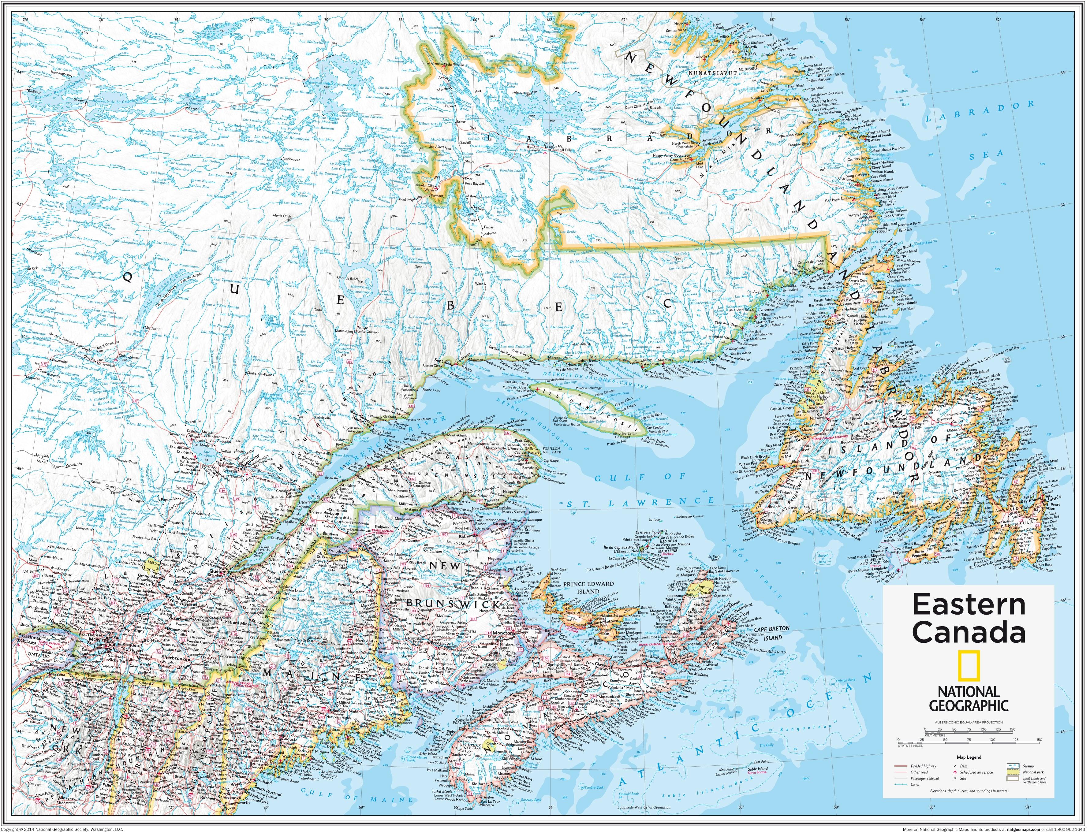 Eastern Canada 91 x 73cm