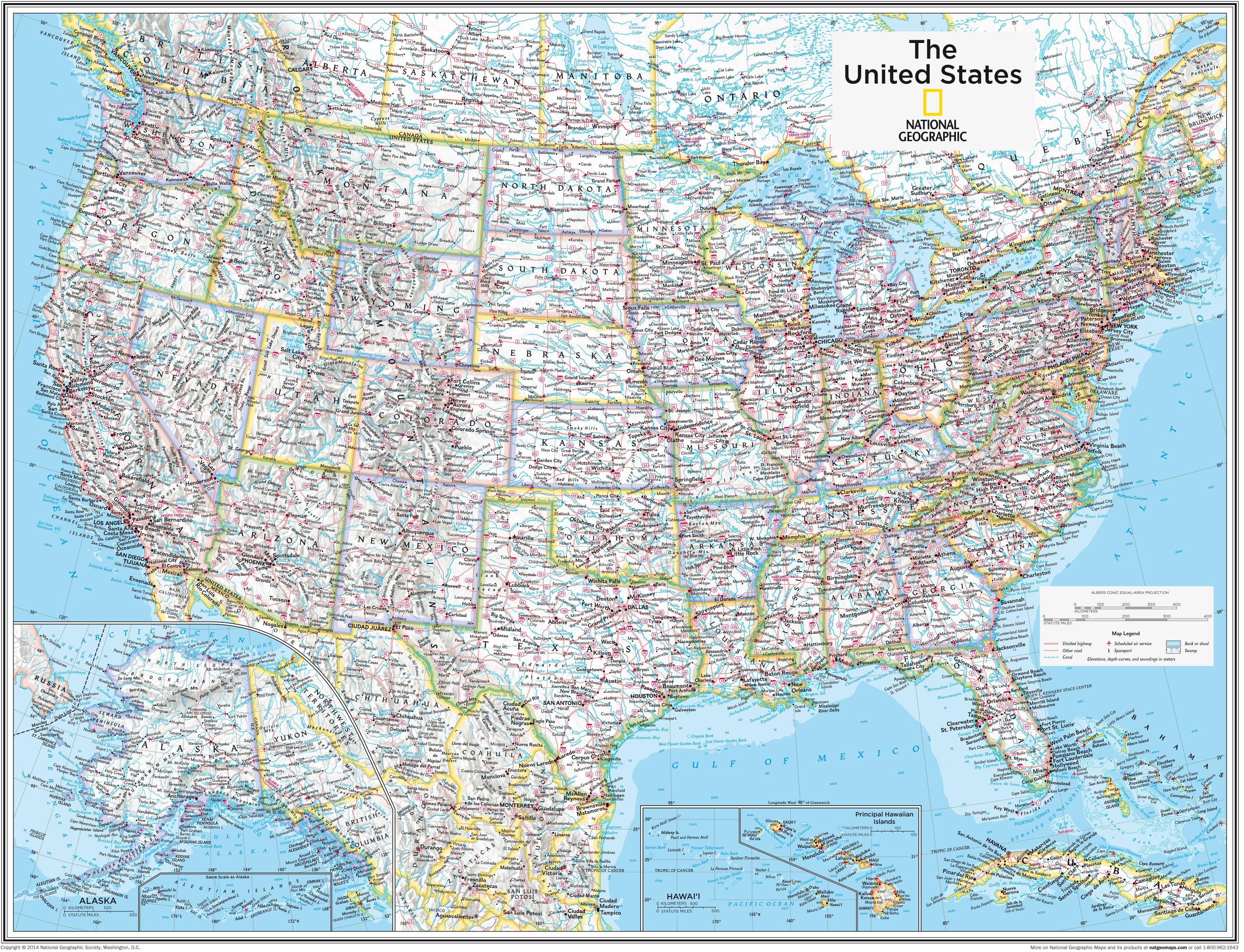 Vereinigte Staaten USA 91 x 73cm