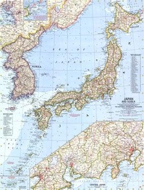 1960 Japan And Korea Map on capital of korea, n. korea, map from florida to korea, area of russia near korea, pyongyang korea, world map korea,