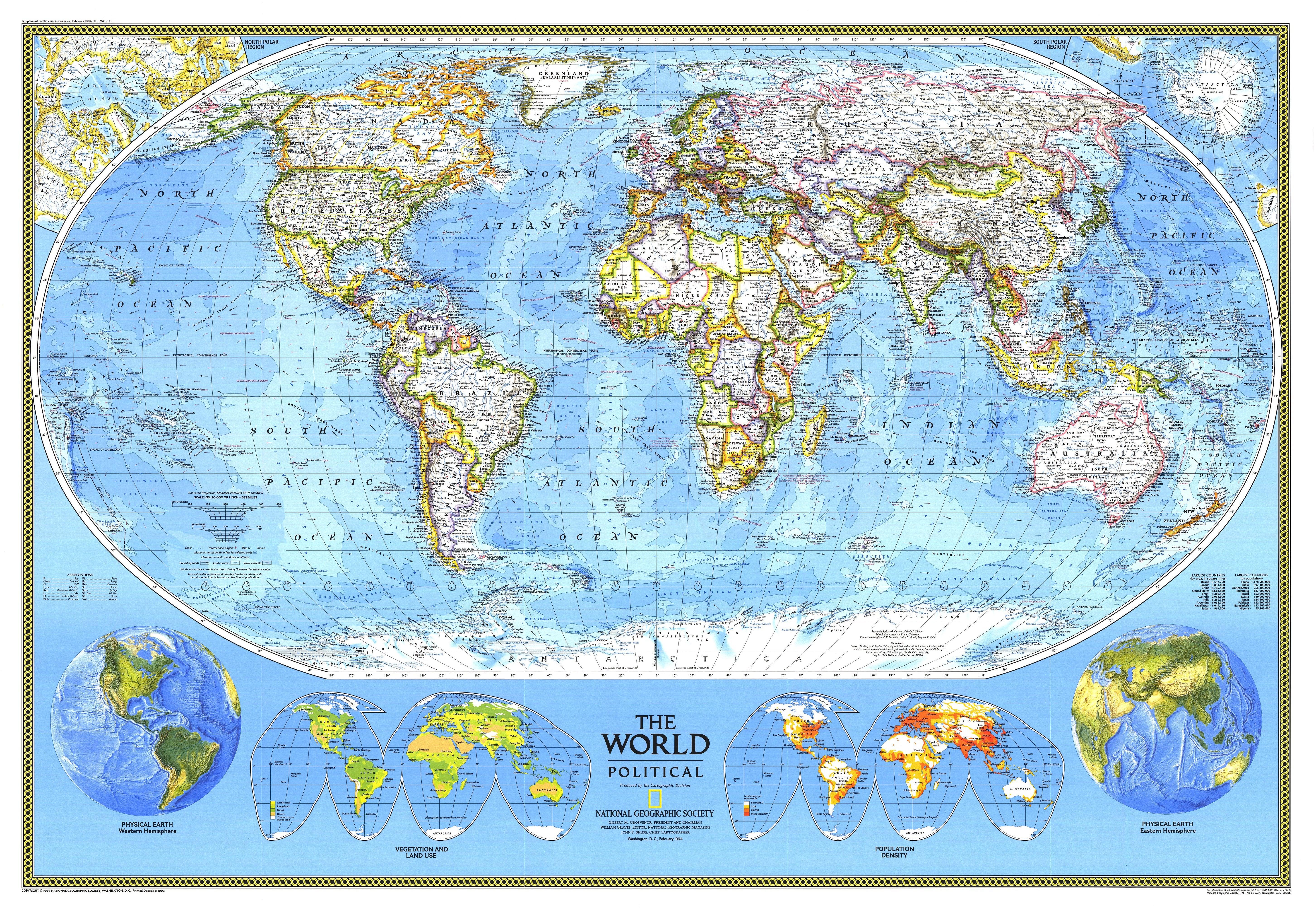 Pics of world political map