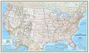 große Landkarten