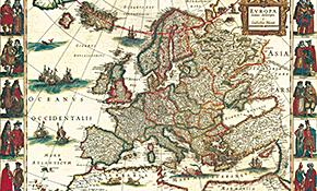 Antike Landkarten