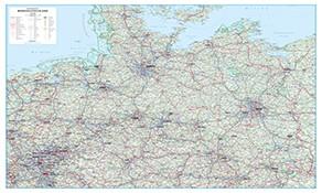 Straßenkarten Deutschland