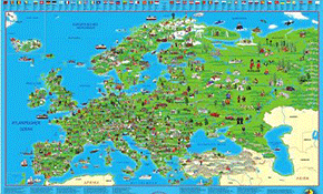 Kinder Landkarten