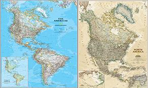 nordamerika karten