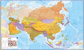 Asien Karten