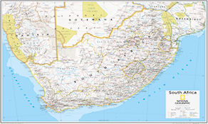 Afrika Landkarten