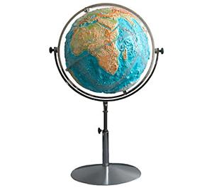 3D Relief Globen