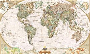 National Geographic Weltkarten
