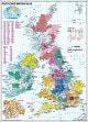 Postnummer Kort Storbritannien