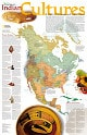 Indians Culture Poster Map from National Geographic