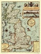 Shakespeares England Wall Map