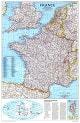 1989 Frankreich Karte 51 x 79cm