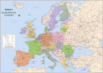 European Union Map 2017