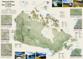 Poster National Parks from National Geographic