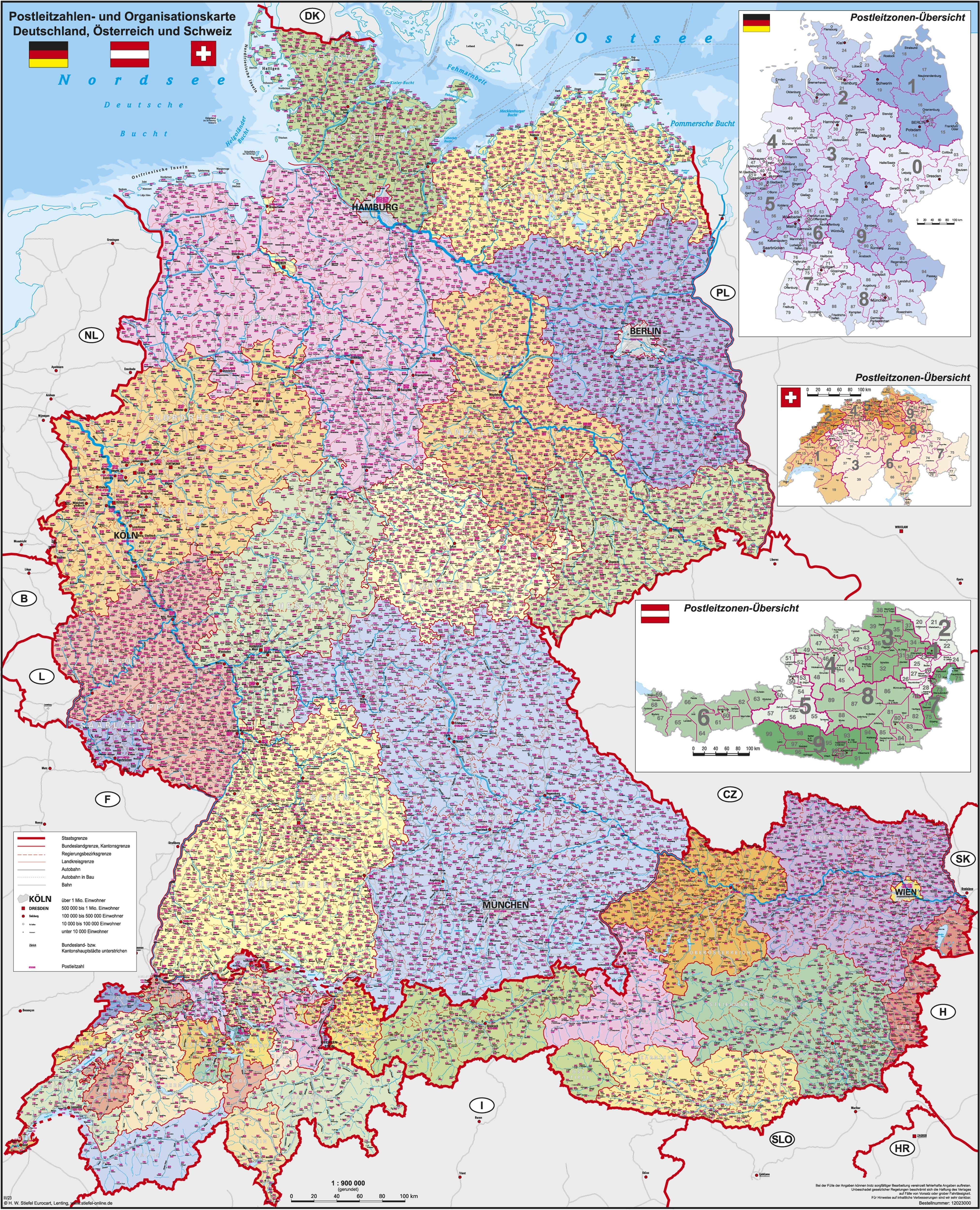 Post Deutschland Schweiz