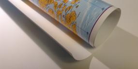 Poster Karten einseitig laminiert mit Beleistung