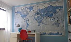 Landkarte Tapete