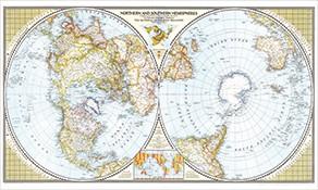 Alte Karten National Geographic