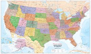 Nordamerika Landkarten