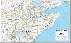 NGS Afrika Landkarten