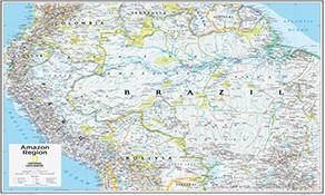 Nord- und Südamerika Karten