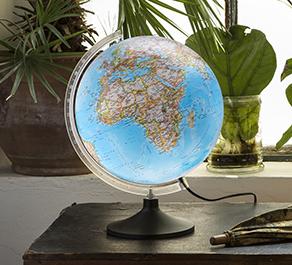 Dobbeltbillede Lys Globus