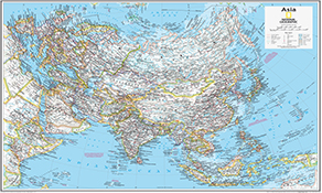 NGS Country Kort Asia