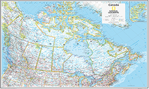 NGS Country Kort Canada