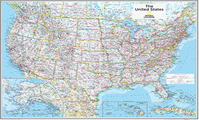 USA Kort