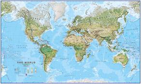 geografik verdenskort