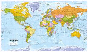 politisk verdenskort