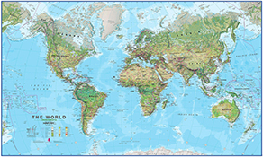 Enorme Verdenskort