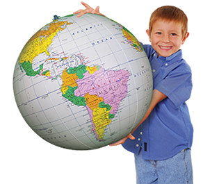Inflatables Globes