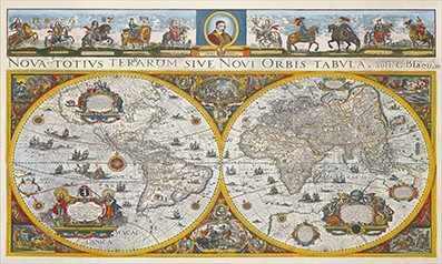 Old Wall maps