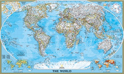 National Geographic Wall Maps