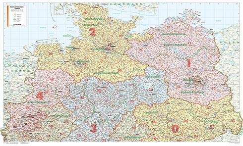 Postcode maps