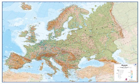 Buy Wall Maps World Maps Posters And Globes Interkart
