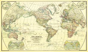 National Geographic Historical Maps