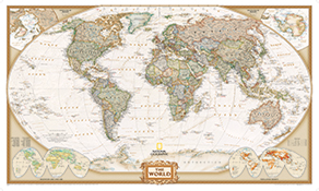 National Geographic Wold Maps