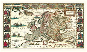 Historic Country Wall Maps